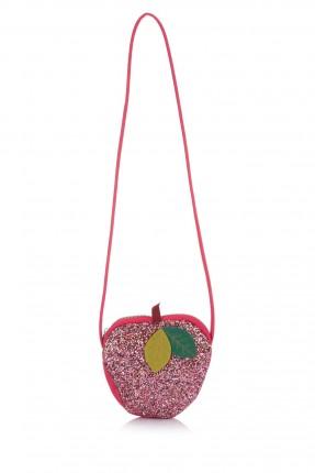 حقيبة يد اطفال بناتي شكل تفاحة