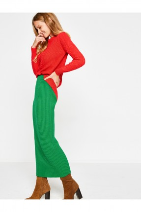 تنورة نسائية طويلة - اخضر