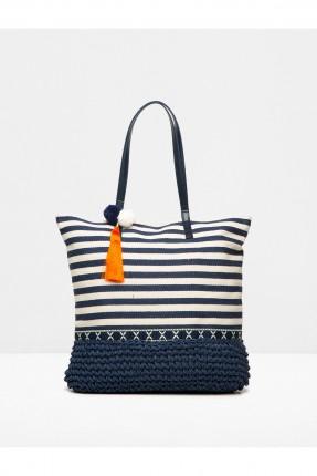 حقيبة يد نسائية - نيلي