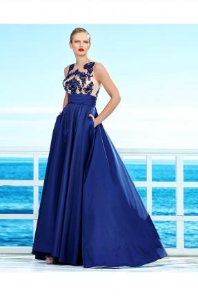 فستان رسمي _ ازرق داكن