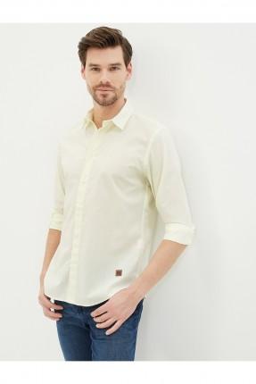 قميص رجالي سبور - اصفر
