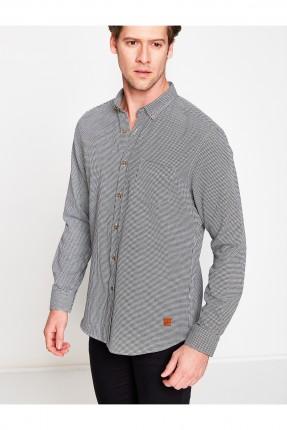 قميص رجالي كم طويل