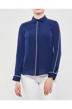 قميص نسائي _ ازرق داكن