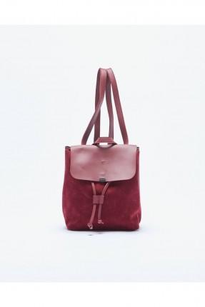 حقيبة ظهر نسائية _ خمري