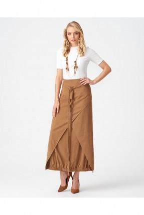 تنورة طويلة طبقات