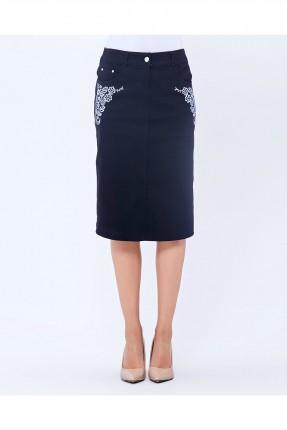 تنورة قصيرة _ ازرق داكن