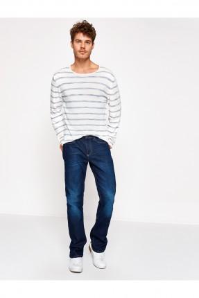 بنطال رجالي جينز - ازرق