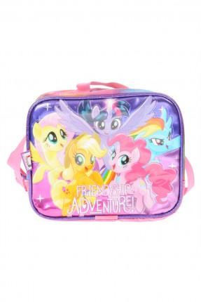 حقيبة مدرسية للطعام اطفال بناتي مع طبعة