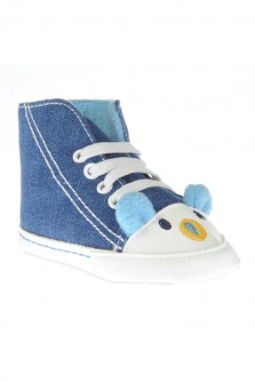 حذاء بيبي ولادي _ ازرق