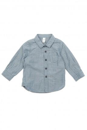 قميص بيبي ولادي _ ازرق داكن