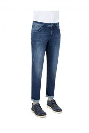 بنطال رجالي جينز - كحلي