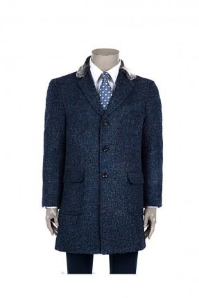 معطف رجالي - كحلي