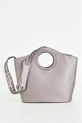 حقيبة يد  نسائية  _ فضي