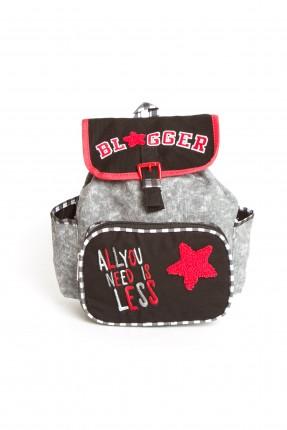 حقيبة مدرسية اطفال بناتي - اسود