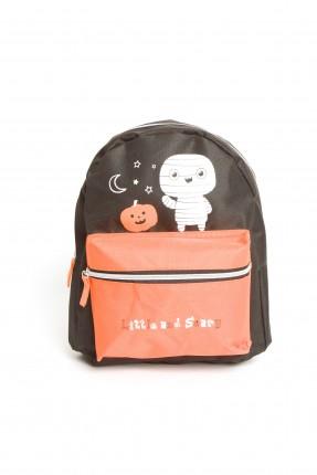 حقيبة مدرسية اطفال ولادي - اسود