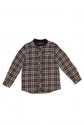 قميص بيبي ولادي  - اسود