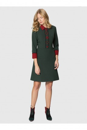 فستان نسائي - اخضر