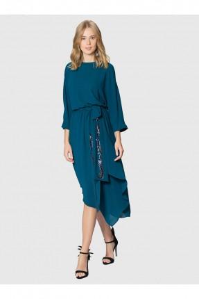 فستان نسائي - ازرق