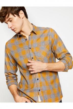 قميص رجالي _ اصفر