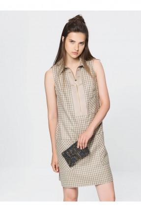 فستان نسائي - بيج