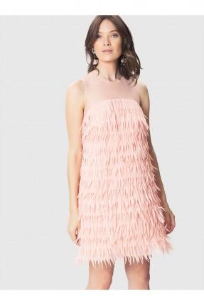 فستان نسائي - وردي