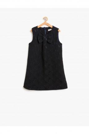 فستان اطفال بدون اكمام _ ازرق داكن