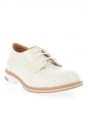 حذاء بيبي ولادي _ كريمي
