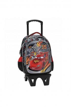 حقيبة مدرسية اطفال ولادي مع رسمة سيارة