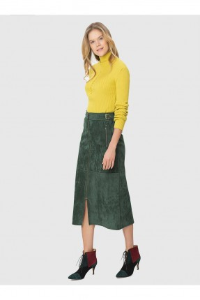 تنورة قصيرة - اخضر