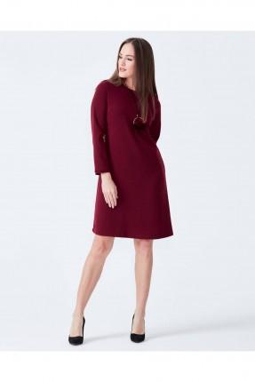 فستان سبور - خمري