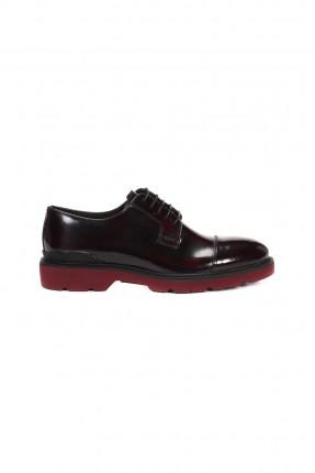 حذاء رجالي _ خمري غامق