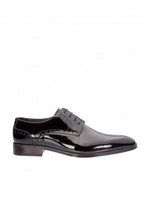 حذاء رجالي جلد _ اسود