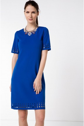 فستان سبور - ازرق
