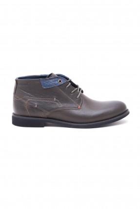 حذاء رجالي - زيتي