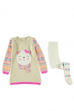 فستان اطفال بناتي مع جوارب