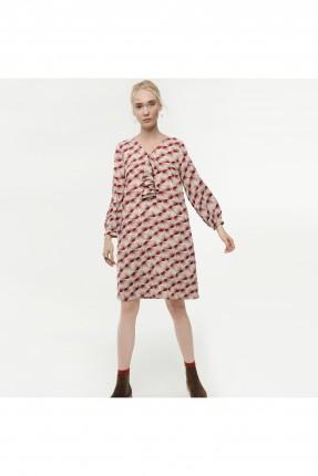 فستان نسائي - خمري