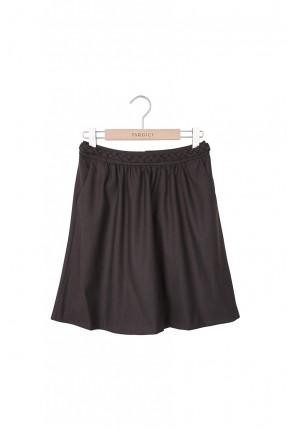 تنورة قصيرة - بني