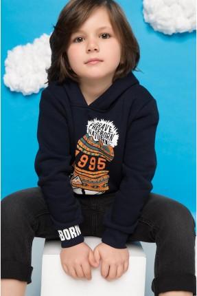 كنزة اطفال ولادي - اسود