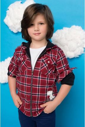 قميص اطفال ولادي كاروهات
