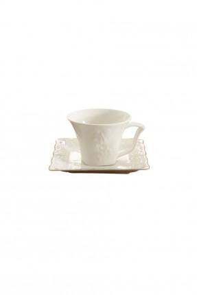طقم فناجين قهوة / 6 اشخاص - 12 قطعة /