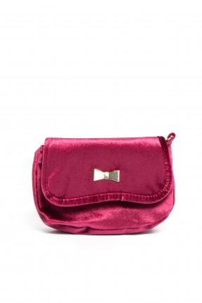 حقيبة يد اطفال بناتي - خمري
