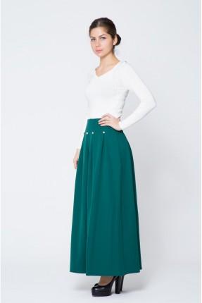 تنورة طويلة - اخضر