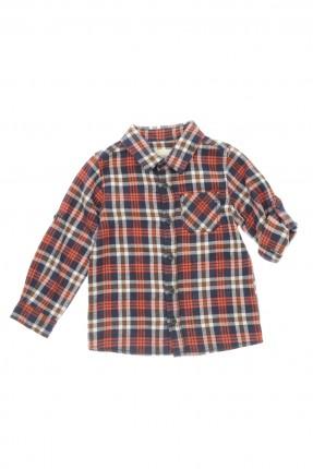 قميص اطفال ولادي _ ازرق داكن