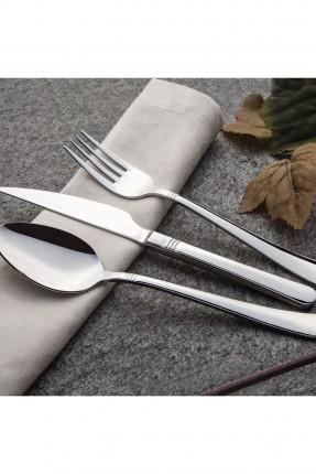 طقم ملعقة - شوكة - سكين / 12 شخص - 60 قطعة /