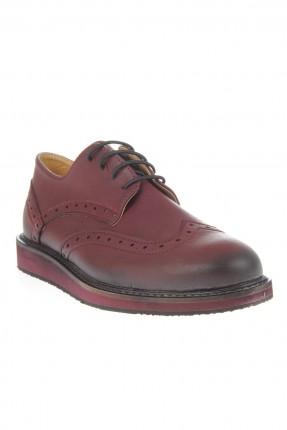 حذاء اطفال ولادي _ خمري