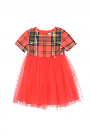 فستان اطفال _ احمر