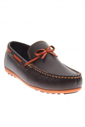 حذاء اطفال ولادي _ بني