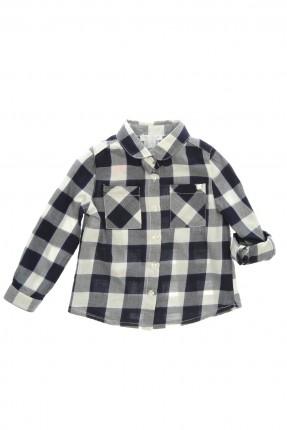 قميص اطفال بناتي _ ازرق داكن