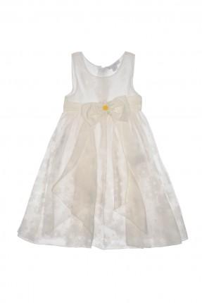 فستان اطفال بناتي _ ابيض