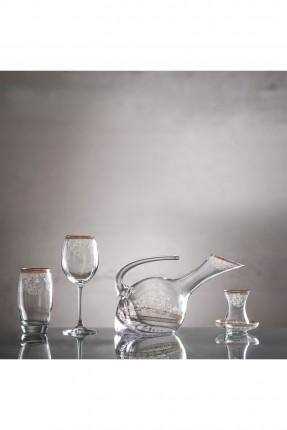 طقم زجاج للشرب / 12 شخص - 49 قطعة /